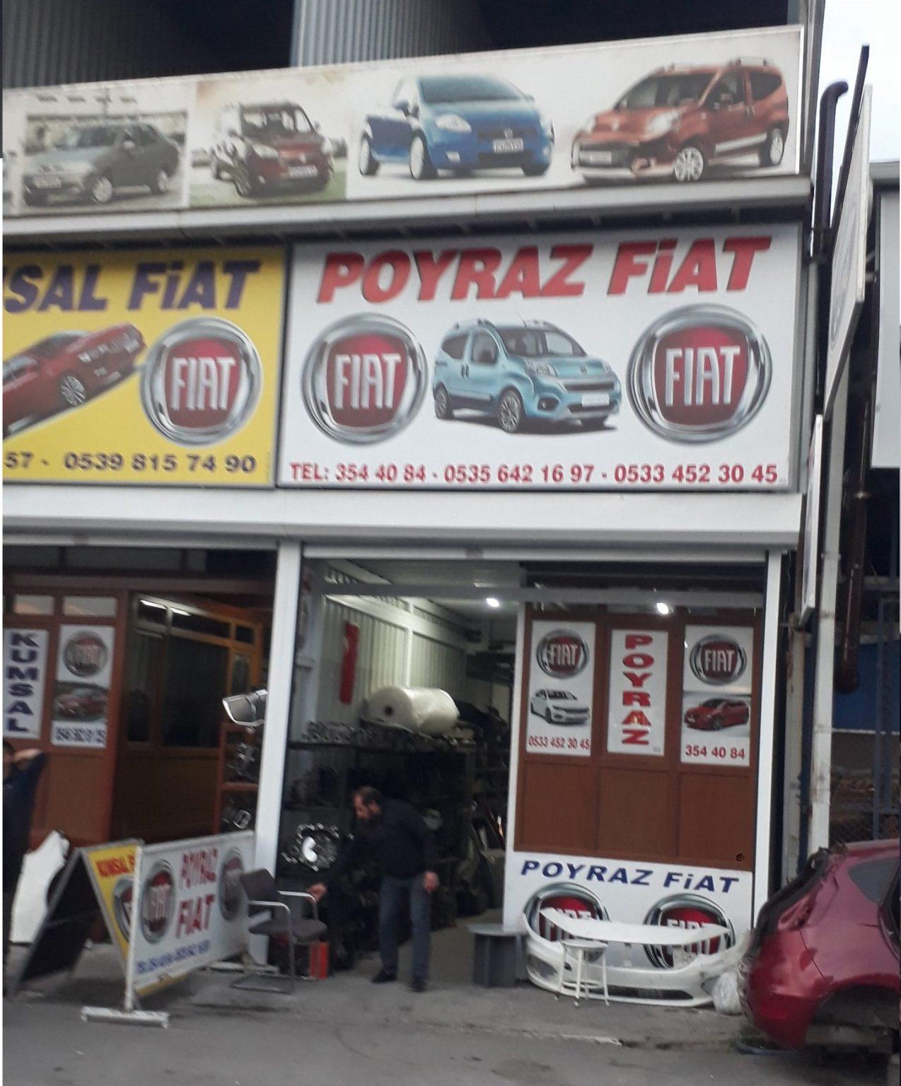 Fiat Çıkma Parça - Poyraz Fiat